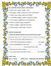 English Worksheet: 2nd page of the quiz