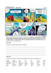 English Worksheets: The Angry Birds Clip 2