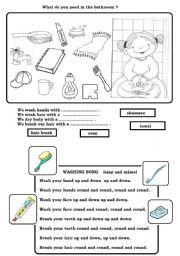 Hygiene worksheets