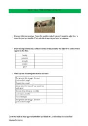 English worksheet: THE BUTTERFLY CIRCUS
