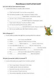 English Worksheets: ROUNDING UP!
