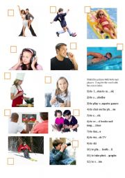 English Worksheets: freetime activities