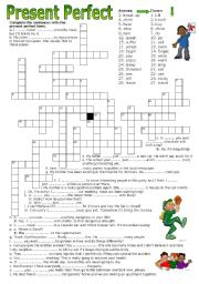 And crossword past present Past or