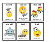English Worksheets: contractions 3/7