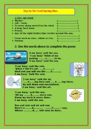 English Worksheets: Day by Sir Cecil