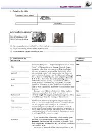 English Worksheets: ARTIFICIAL INTELLIGENCE- reading comprehension