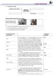 English Worksheet: ARTIFICIAL INTELLIGENCE- reading comprehension