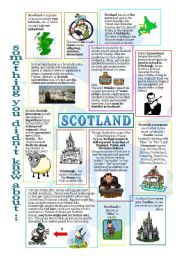 English Worksheet: something u didn�t know about Scotland