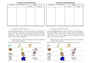 English Worksheets: countable and countable nouns