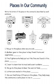 our neighborhood esl worksheet by yellowismyfavoritecolor. Black Bedroom Furniture Sets. Home Design Ideas