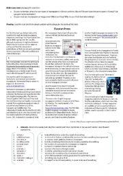 English Worksheet: Press in Russia