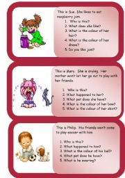 English Worksheets: Mini comprehensions
