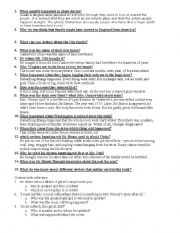English Worksheets: Canterveler the ghoost