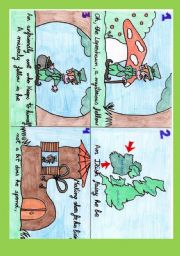 English Worksheet: The Leprechaun�s poem