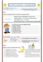 English Worksheet: Relative Clauses - clauses with who/which/that