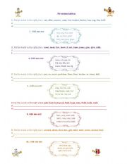 English Worksheet: Phonetic symbols