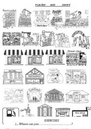 Places and shops