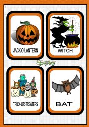 Halloween 2011 - Flashcards set 1