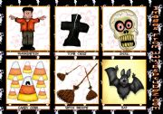 Halloween flashcards 2nd set