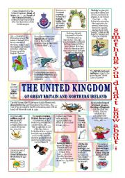 English Worksheet: something u didn�t know about the UK