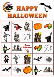 Halloween Bingo No.2