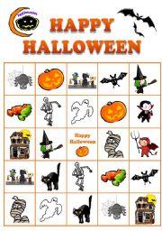Halloween BINGO No.4