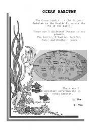 Ocean Habitat Worksheets Kindergarten Science. Ocean. Best Free ...
