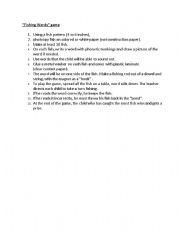 English Worksheets: Fishing Words