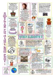 English Worksheets: something u didn�t know about the Queen