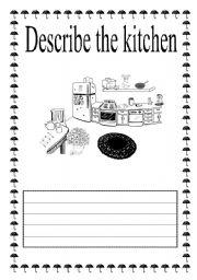 description of a kitchen essay