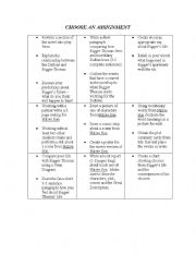English Worksheets: differentiated activities for Native Son