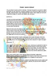 English Worksheets: Asterix in Britain