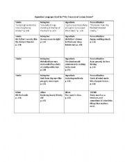 English teaching worksheets: Figurative language
