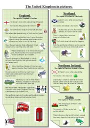 English Worksheets: The UK in pictures