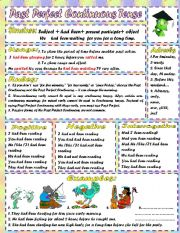 English Worksheet: Past Perfect Continuous Tense