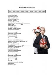 English Worksheets: Pet Shop Boys - Miracles (Comparative Adjectives)