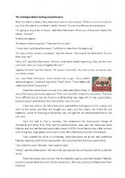 English Worksheet: The no1 Lady�s Detective Agency: The missing husband