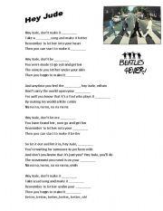 Beatles - Hey Jude - Feelings & emotions + powerpoint
