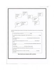 English Worksheets: Colloquial phrases