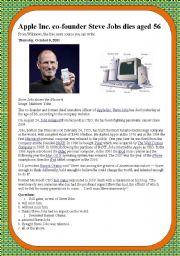 Steve Jobs Dies
