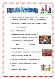 English Worksheets: What do you know about the Engslishman