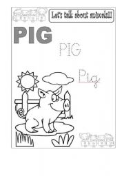 English Worksheets: Animals Set - Writing