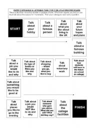 english teaching worksheets board games. Black Bedroom Furniture Sets. Home Design Ideas
