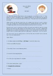 English Worksheet: Heroes