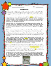English Worksheet: Bloom�s taxonomy and elements of the plot