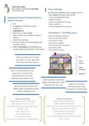English Worksheet: Modern Living