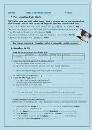 English Worksheet: Istill get my pocket money