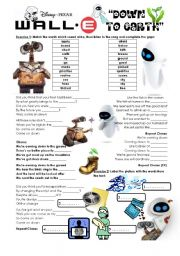 English Worksheet: Wall-E -
