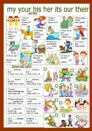 Intermediate level synonyms worksheets