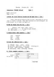 English Worksheets: Asamoah